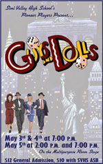 Guys and Dolls, Spring 2012